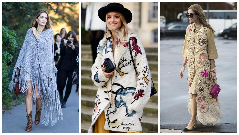 أفكار متنوعة لارتداء وتنسيق الملابس الكروشيه